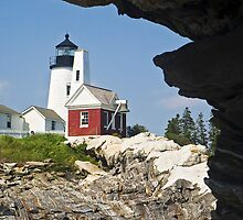 Pemaquid Point Lighthouse, Bristol, Maine by Kenneth Keifer