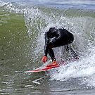 The Headless Surfer by Michael  Moss