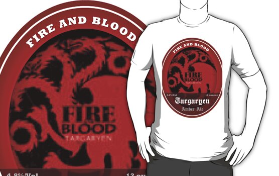 Game of Thrones Targaryen by wasdstomp