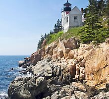 Bass Harbor Head Light, Acadia National Park, Maine by Kenneth Keifer