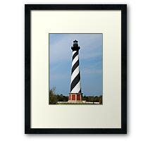 Cape Hatteras Lighthouse, Outer Banks, North Carolina Framed Print