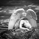 Grieving Angel by olga zamora