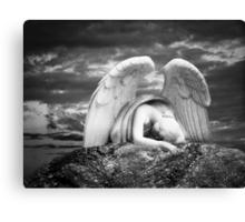 Grieving Angel Canvas Print