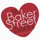 Heart Baker Street Babes Tee by BakerStBabes
