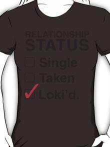 AVENGERS - SINGLE TAKEN LOKI'D T-Shirt