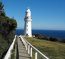 The Eye of the Needle. (Cape Otway Lighthouse) by Matthew Sims
