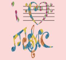I heart Music by Hgurl