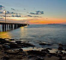 silky water by the pier by ketut suwitra