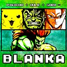 Blanka Fusion (Print Version) by Rodrigo Marckezini