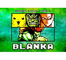 Blanka Fusion (Print Version) Photographic Print