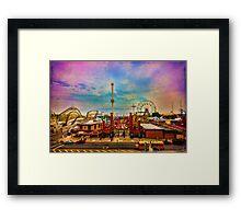 Luna-Park-a-Rama Framed Print