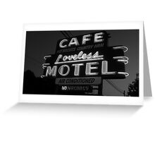 Loveless Cafe Greeting Card
