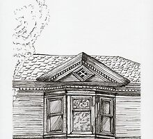De Luz House For Drawing Day 2012 by Amy-Elyse Neer