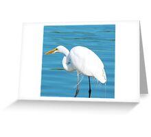 "Majestic Crane ""George"" Greeting Card"