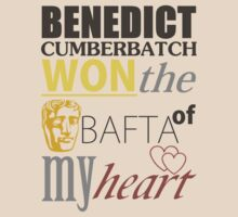 Benedict Cumberbatch won the BAFTA of my heart. by NightDragon74