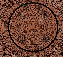 Aztec Calendar by Chillee Wilson by ChilleeWilson