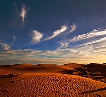 Sun & Sand - Perry Sand Hills  Wentworth NSW by Graeme Buckland