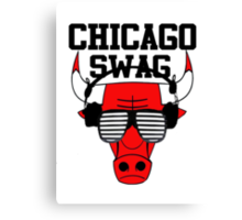 Chicago swag-  Canvas Print