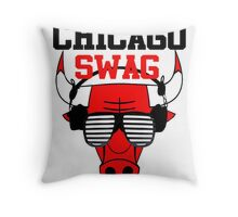 Chicago Swag Throw Pillow