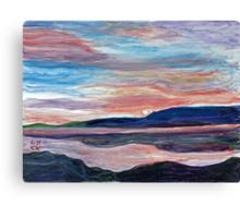 Local Sunrise Canvas Print