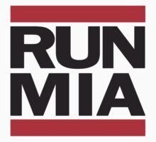 Run MIA T Shirt by 785Tees