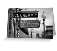 Small Town Ambience Greeting Card