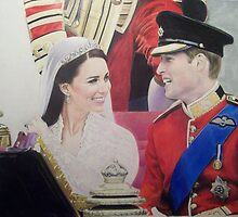 Duke and Duchess of Cambridge 2011 by Samantha Norbury