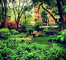 Jefferson Market Community Garden - Greenwich Village, New York City by SylviaS
