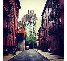 Gay Street - Greenwich Village - New York City Photographic Print