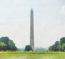 The Washington Monument by Teresa Henry