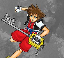 Sora the Keyblade Master by Riccarmon12