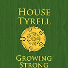 House Tyrell iPhone Case by alexandramarieg