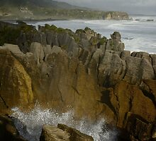 The Pancake Rocks by Alessandro Fraracci