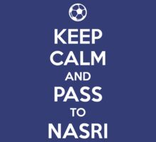 Keep Calm and Pass to Nasri by aizo
