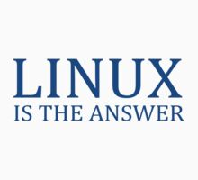 Linux is the Answer by personalized