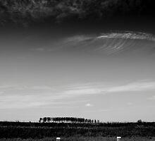 Clouds over Het Sas (near Goes) The Netherlands by M. van Oostrum