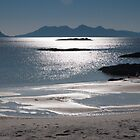 Rhum and Eigg by Mark Denham