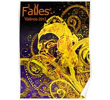 2013 FALLAS OF VALENCIA Poster