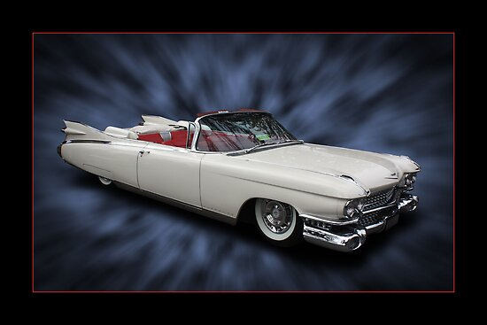 Caddy Convertible by Keith Hawley