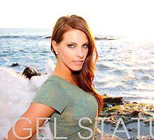 Angel Status® Angel Vanessa Art Collection. (Limited Edition) by AngelStatus