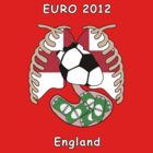 England in Euro 2012 by dreamkripted