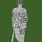 Mycroft Holmes Typography Art by andersaur