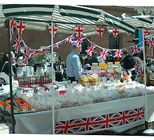 Jubilee Stall Tynemouth Station by Jackie Wilson