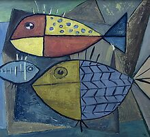 Abstract Fish by lorikonkle