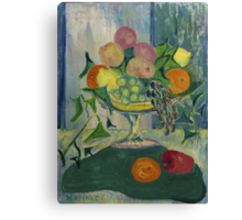 Early Still Life Canvas Print