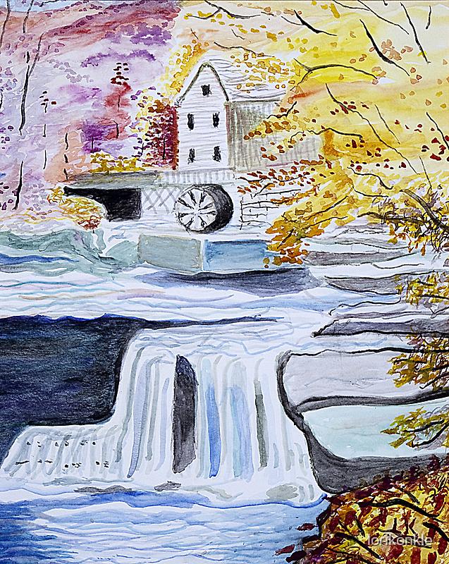 Mill Stream by lorikonkle