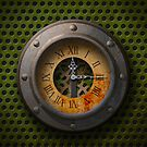 Steam Punk Clock - iPhone Case by Christopher Herrfurth