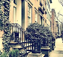 Greenwich Village Houses by SylviaS
