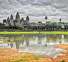 Angkor Wat, Cambodia. by Karl Willson