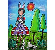 Bunny-girl Photographic Print